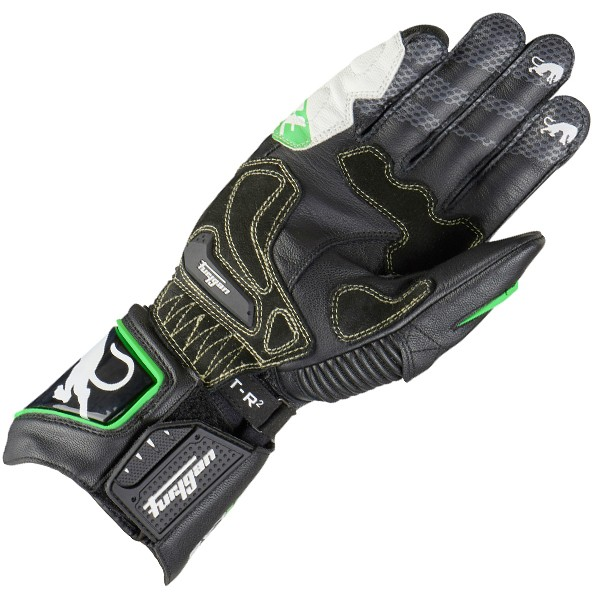 Furygan Fit R2 Gloves Black & White & Green