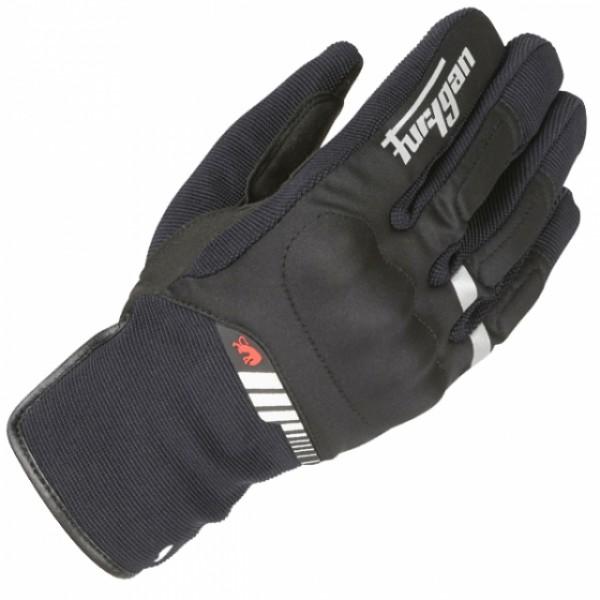 Furygan Jet All Season Gloves Black & White