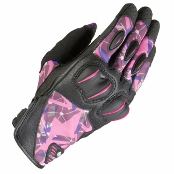 Furygan Graphic Lady Evo Gloves Bk/pk