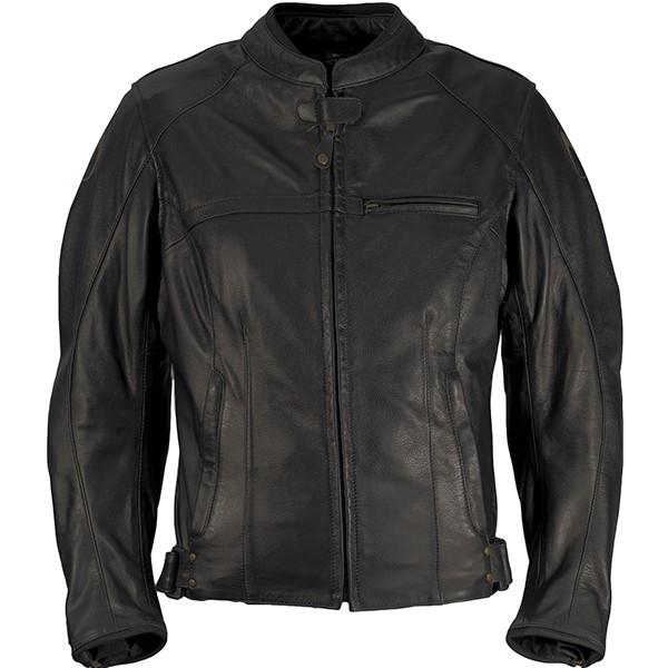 Richa Carolina Leather Jacket Black