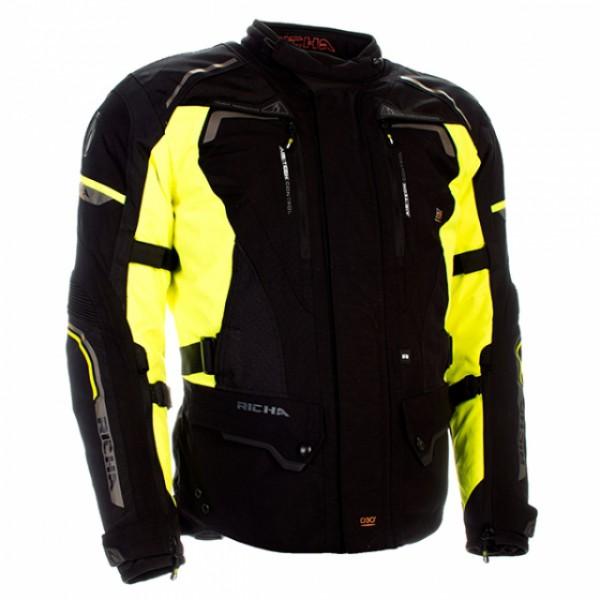 Richa Infinity 2 Lady Jacket Black & Fluo