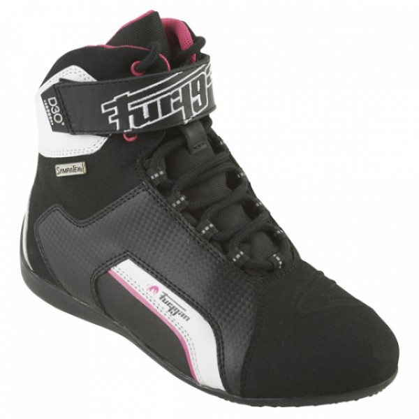 Furygan Jet Lady D30 Sympatex Boots Black & Pink