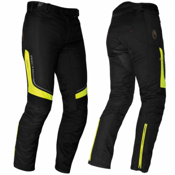 Richa Colorado Lady Textile Trousers Black & Fluo Standard Leg