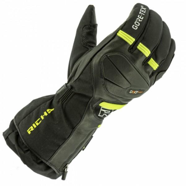 Richa Mountain Gtx Gloves Black & Fluo
