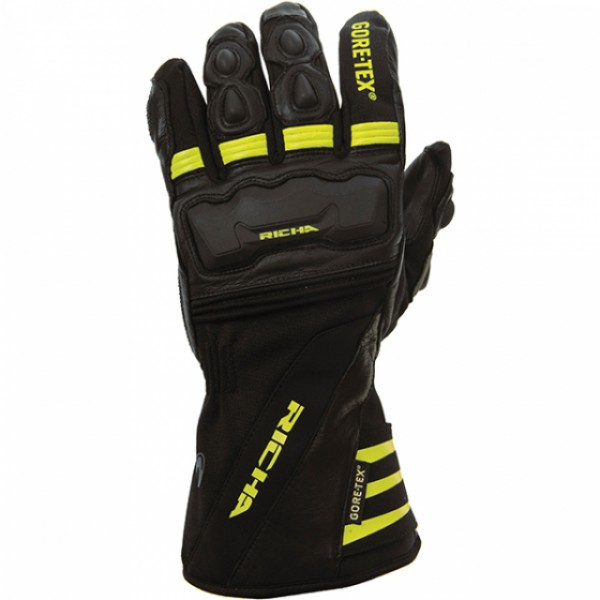 Richa Cold Protect Gore-tex Gloves Black & Fluo