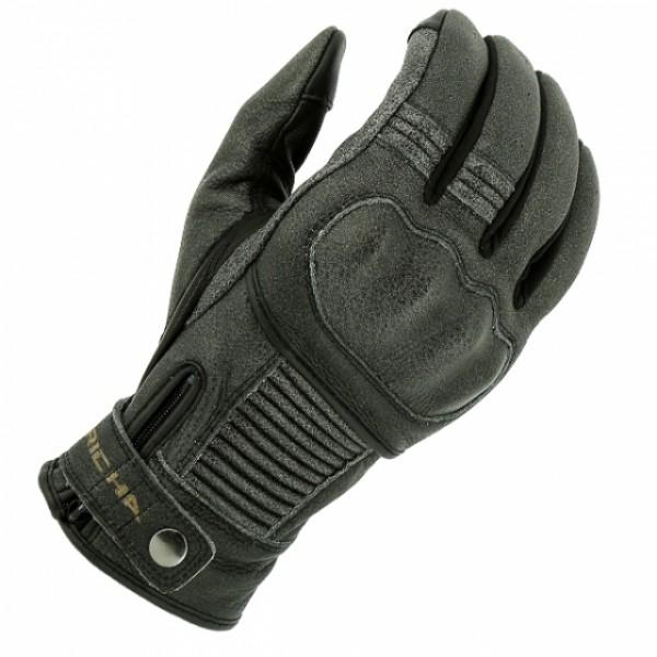 Richa Bobber Leather Glove - Black