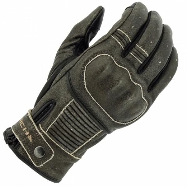 Richa Bobber Leather Gloves - Brown