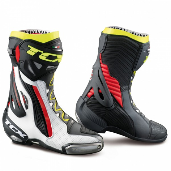TCX Rt-Race Pro Air White & Red & Yellow