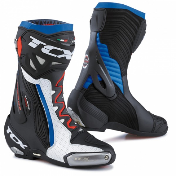 TCX Rt-Race Pro Air White & Black & Blue