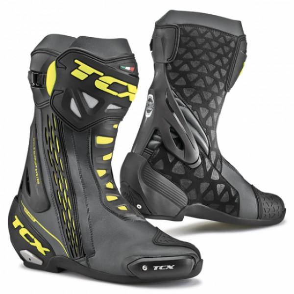 TCX Rt-Race Black & Yellow & Fluo