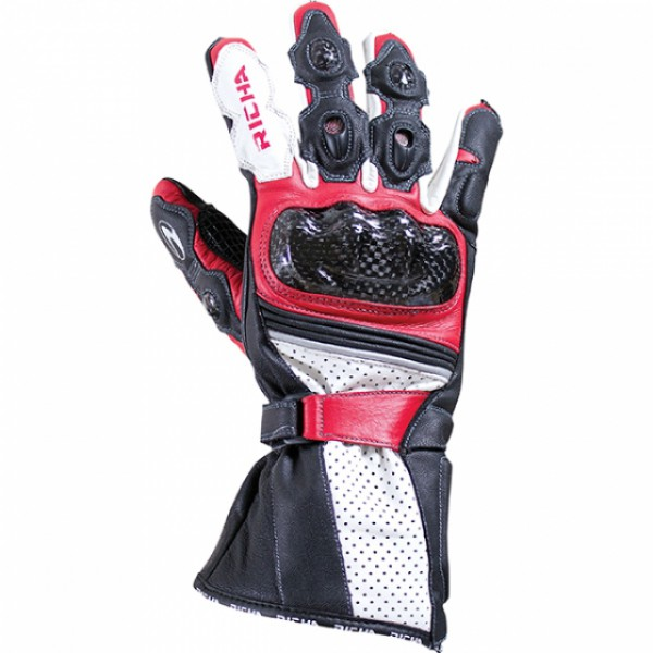 Richa Ravine Glove Black & Red