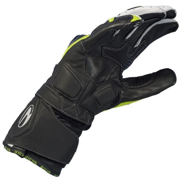 Richa Ravine Glove Black & White & Yellow