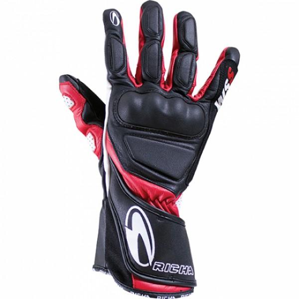 Richa Wss Glove Black & Red
