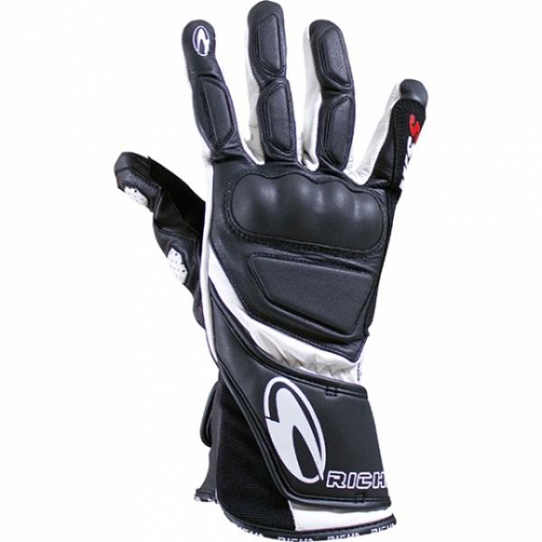 Richa Wss Glove Black & White