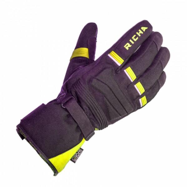 Richa Peak Glove Black & Fluo