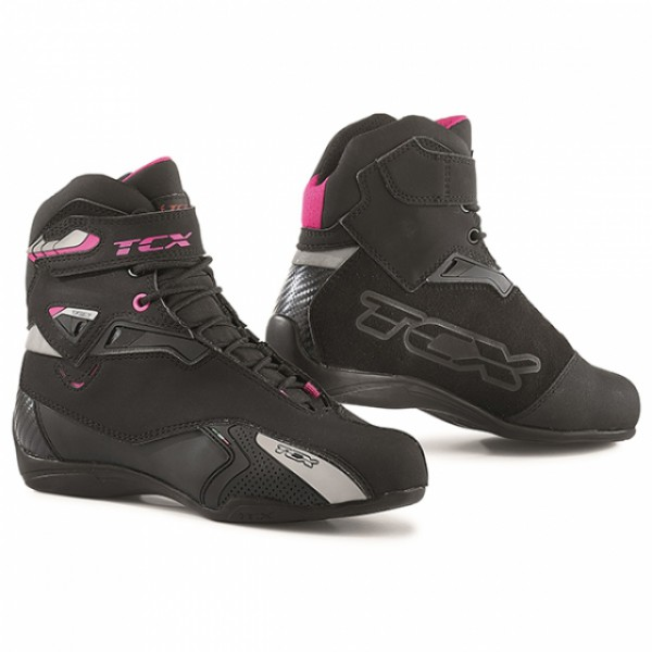 TCX Rush Lady Wp Black & Fuchsia
