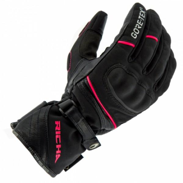 Richa Diana Gtx Gloves Black & Pink