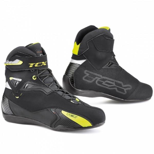 TCX Rush Wp Black & Yellow & Fluo