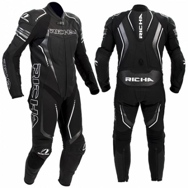 Richa Francorchamps Suit Black