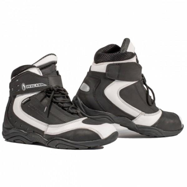 Richa Slick Boot Black & White