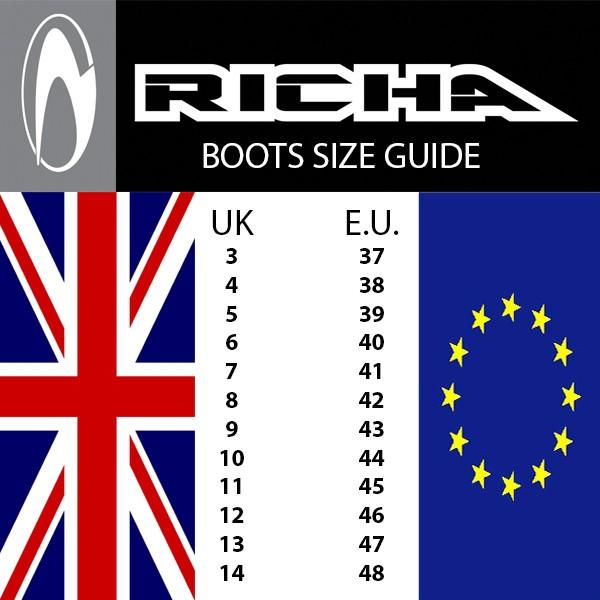 Richa Krazy Horse Boot Black