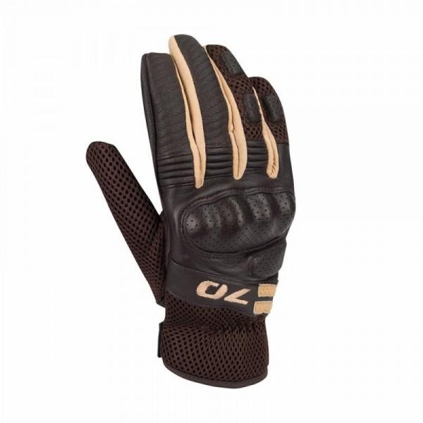 Melbourne Glove Brown & Beige