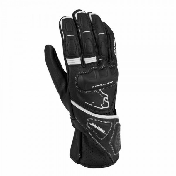 Bering Run-R Glove Black & White