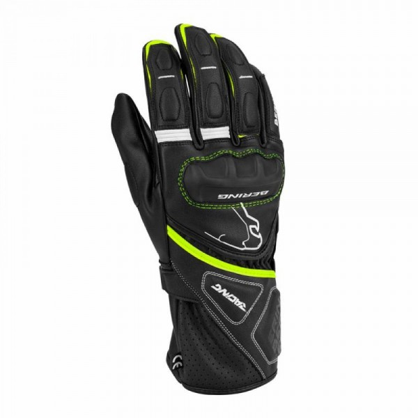 Bering Run-R Glove Black & Fluo