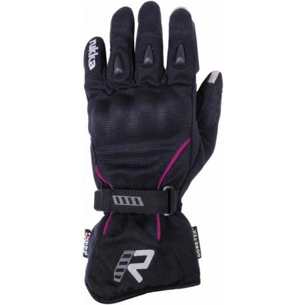 Suki Glove Black & Pink