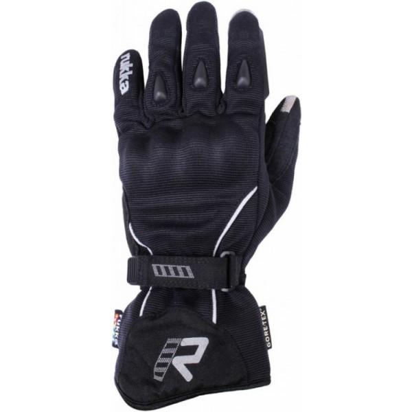Suki Glove Black & Silver