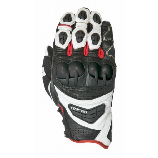 Sprint Glove Black & White & Red