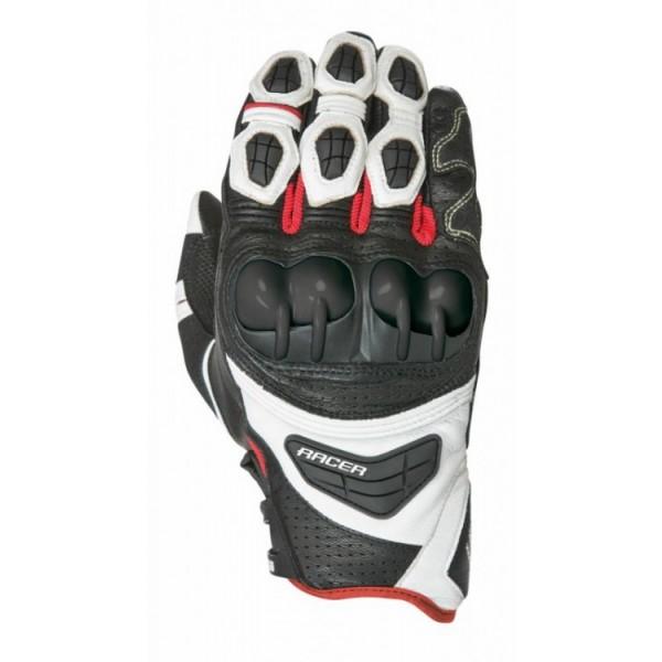 Sprint Glove Black & White & Red