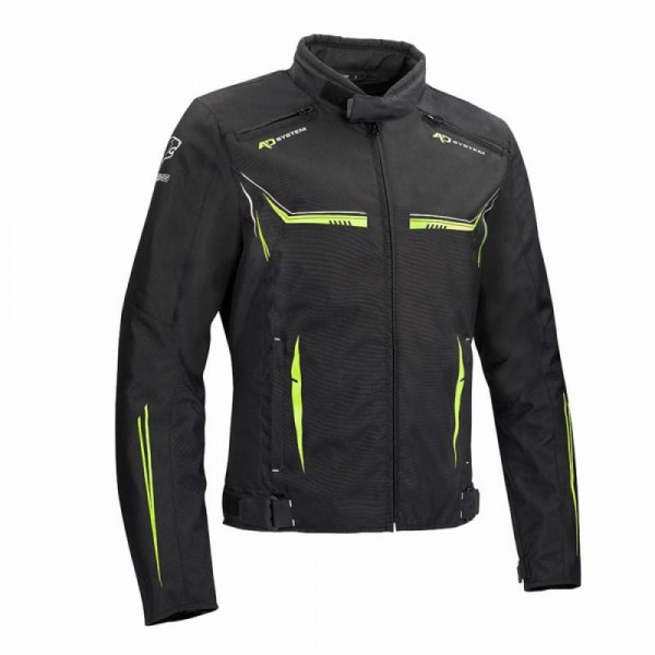 Bering Ross Jacket Black & Fluo