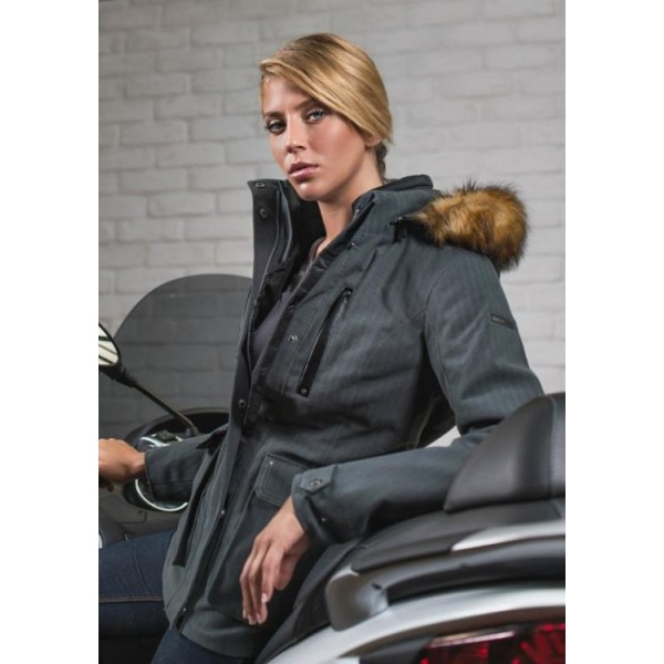 Lady Infinity Jacket Grey