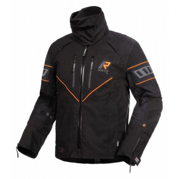 Nivala Jacket Black & Orange