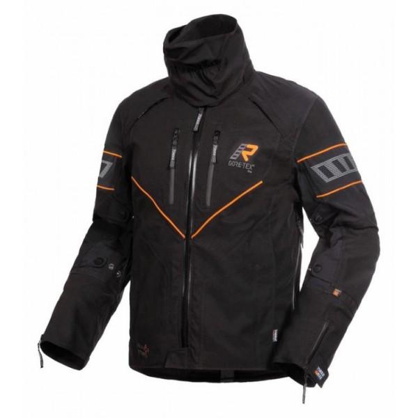 Rukka Nivala Jacket Black & Orange