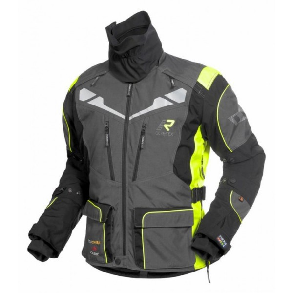 Orivesi Jacket Grey & Yellow