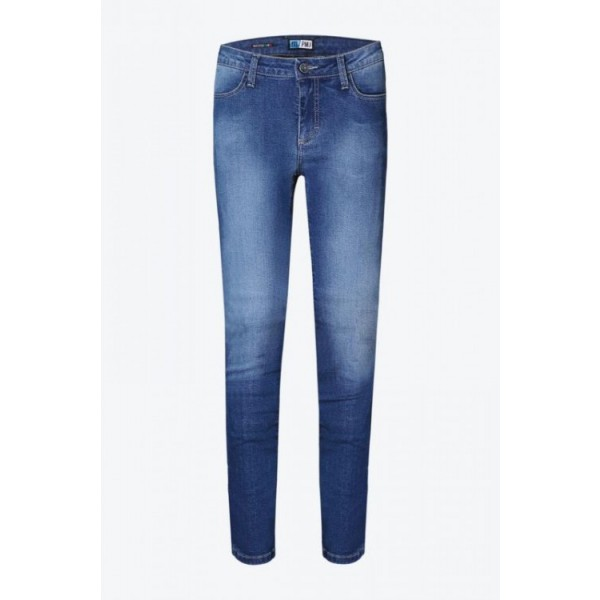 Pmj Skinny Jean Woman Blue