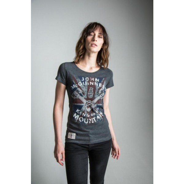 K.o.t.road Lady T Shirt Anthracite