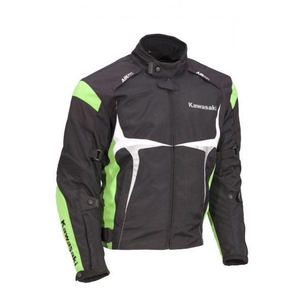 Kawasaki Sports Textile Jacket - Green