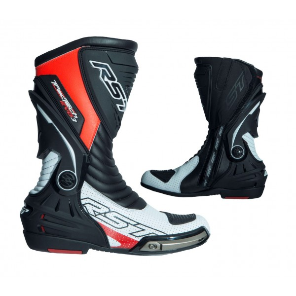 RST Tractech Evo Iii Sport Mens Boot White & Flou & Red