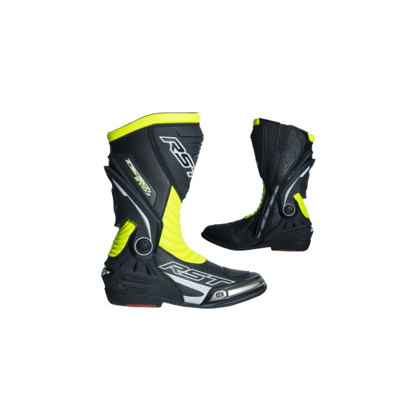 RST Tractech Evo Iii Sport Mens Boot Black & Flou & Yellow