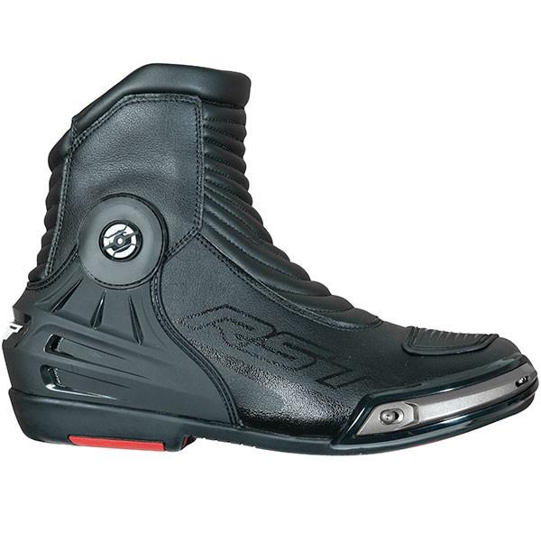 RST Tractech Evo 3 CE Waterproof Short Boots - Black