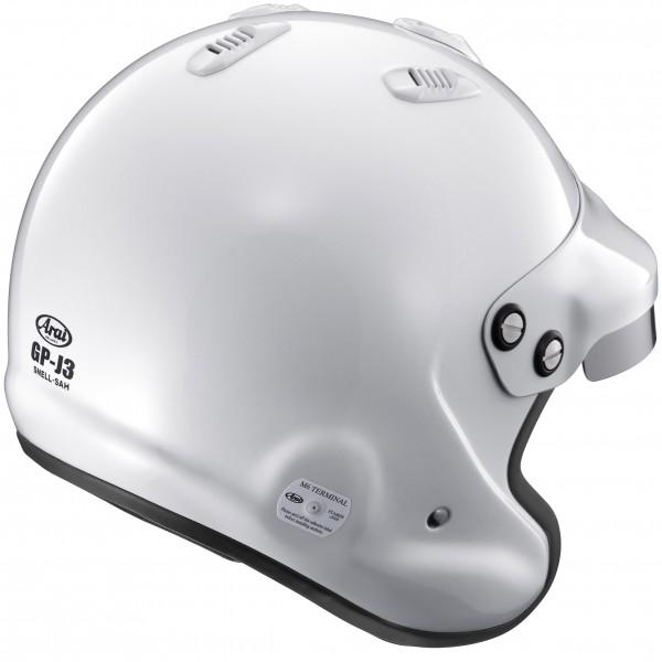 ARAI Gp-J3 (W/m6 Studs) White