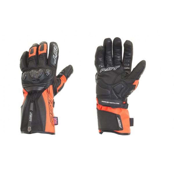 RST Paragon V Ladies Waterproof Glove Flo Red
