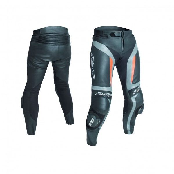 RST Blade Ii Mens Leather Jean Grey & Fluo Reduce
