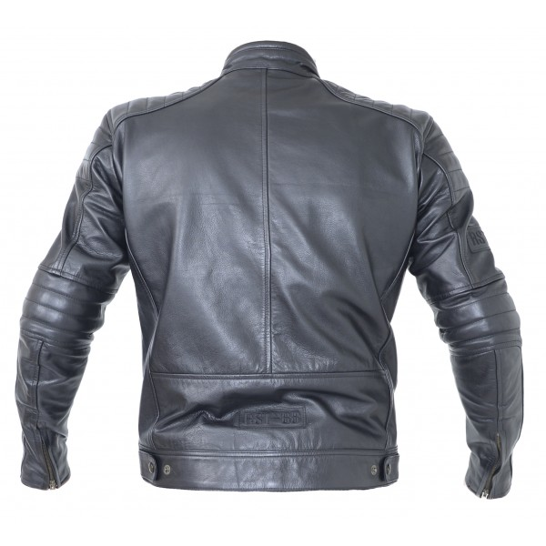 RST Roadster Ii Mens Leather Jacket Vintage Black