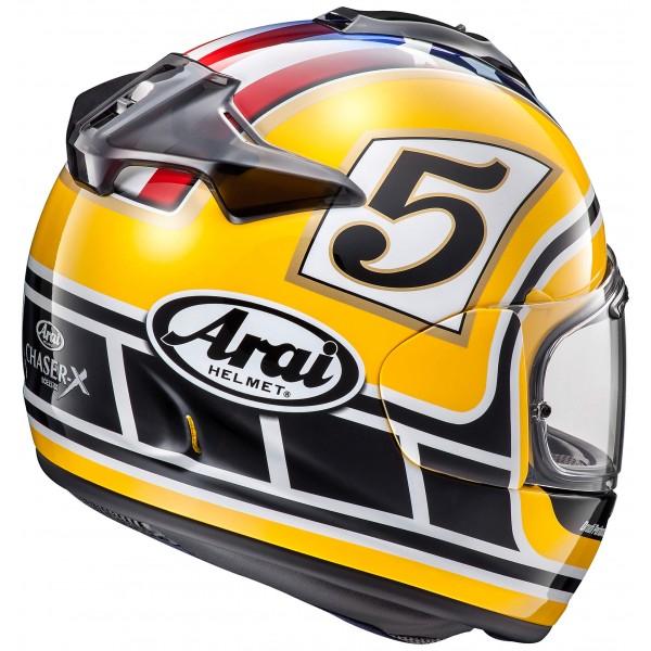 ARAI Chaser X Edwards Legend Yellow