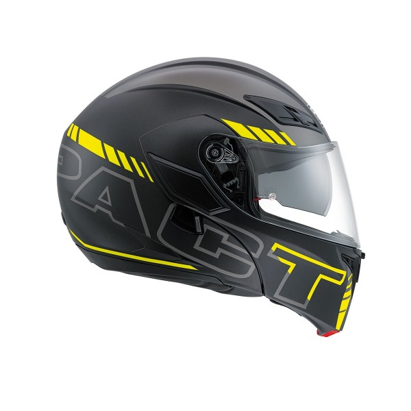 AGV Compact-St Seattle Black & Silver & Yellow