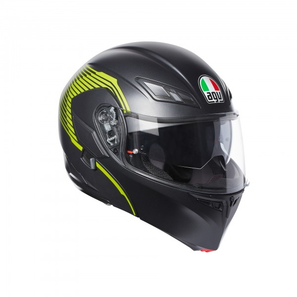 AGV Compact-St Vermont Black & Fluo Yellow
